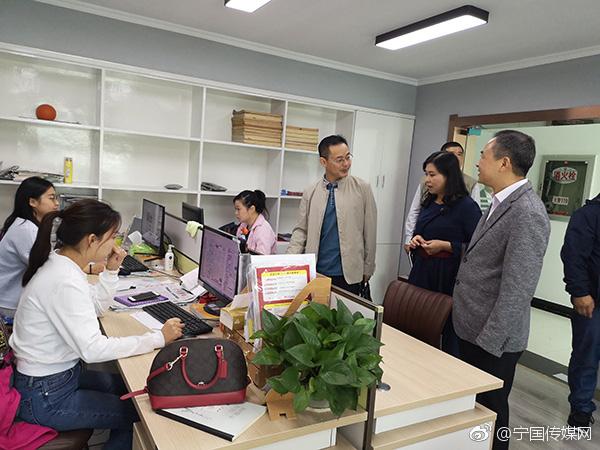 郎溪县委宣传部及县广播电视台来我市考察媒体融合工作